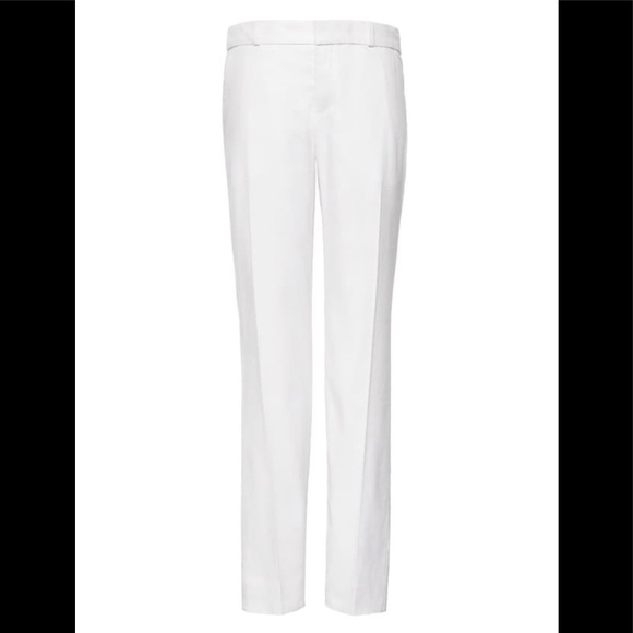 4c5380e2a7b Avery Straight-Fit Stretch Linen-Cotton Ankle Pant